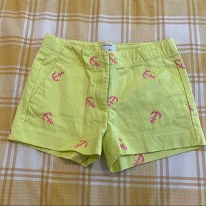 Neon anchor crewcuts shorts